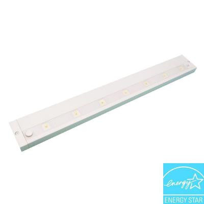 24 in. White LED Dimmable, Linkable Under Cabinet Light