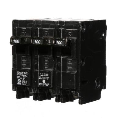 100 Amp Three-Pole Type MP Circuit Breaker