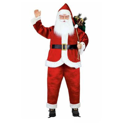 6 ft. Life-size Animated Singing Santa