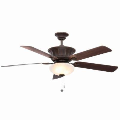 Edenwilde 52 in. Oil Rubbed Bronze Ceiling Fan