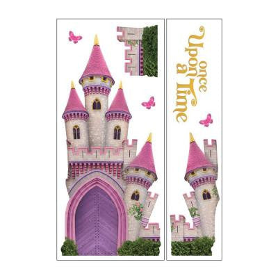 Removable and Repositionable Ultimate Wall Sticker Mini Mural Appliques Princess