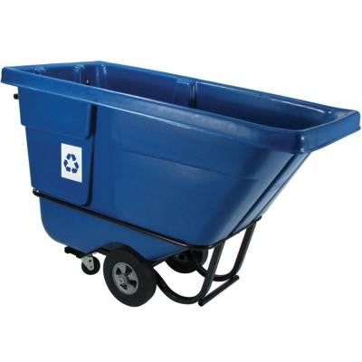 1/2 cu. yd. Rotational Molded Recycling Standard Duty Tilt Truck