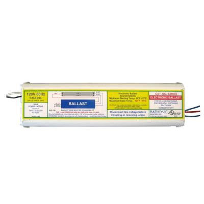 59-Watt T8 High Power Factor Electronic Replacement Ballast