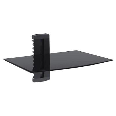 Single AV Component Shelving Wall Mount
