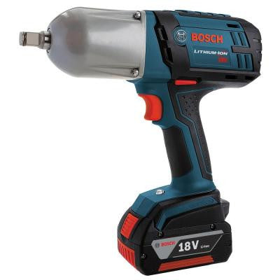 18-Volt Lithium-Ion 1/2 in. High Torque Cordless Impact Wrench with Friction Ring Kit