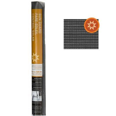 Sun Guard 90 48 in. x 84 in. Charcoal Fiberglass Solar Screen FCS8971-M