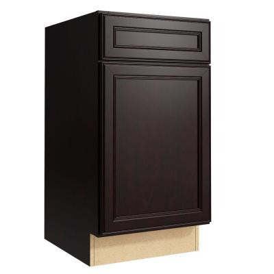 Boden 18 in. W x 34 in. H Vanity Cabinet Only in Coffee