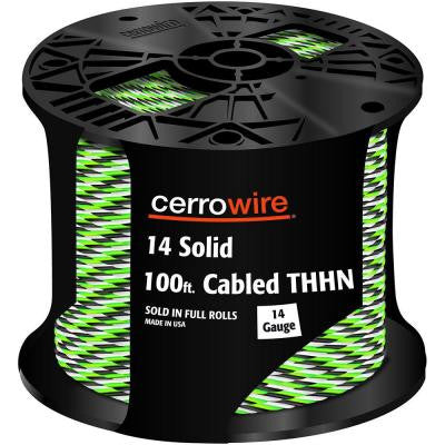 100 ft. 14-3 Solid THHN Cable