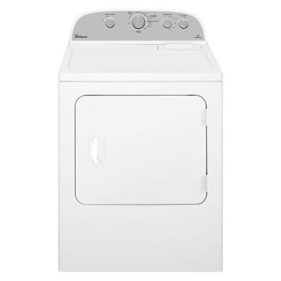5.9 cu. ft. Gas Dryer in White