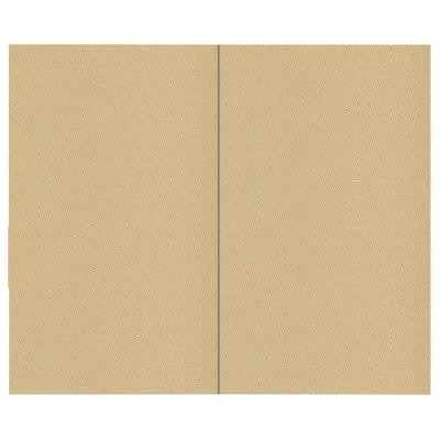 44 sq. ft. Vanilla Fabric Covered Top Kit Wall Panel