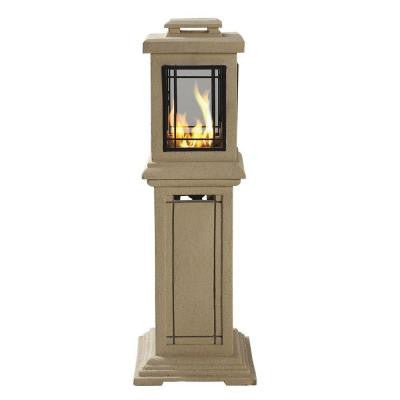40 in. Lantern Style Propane Gas Fire Pit