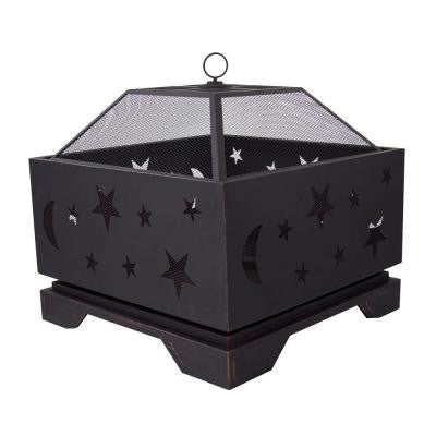 Stargazer 26 in. Deep Bowl Steel Fire Pit