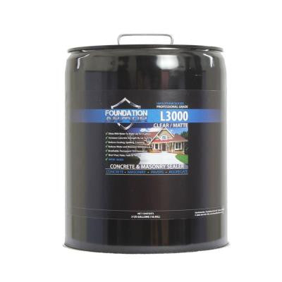 L3000 5-gal. Concentrated Lithium Silicate Concrete Sealer, Densifier and Hardener