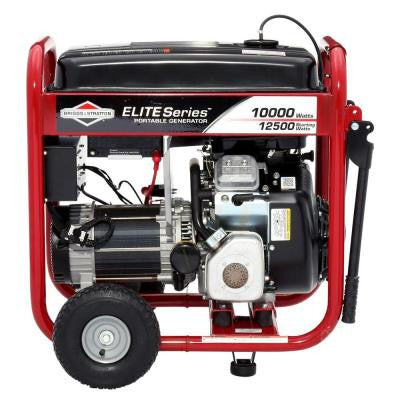 Elite Series 10,000-Watt Gasoline Powered Portable Generator