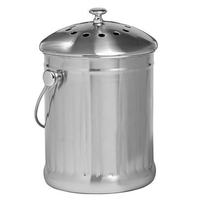 1 gal. Stainless Steel Compost Keeper
