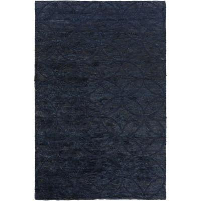 Damoti Navy 5 ft. x 8 ft. Indoor Area Rug