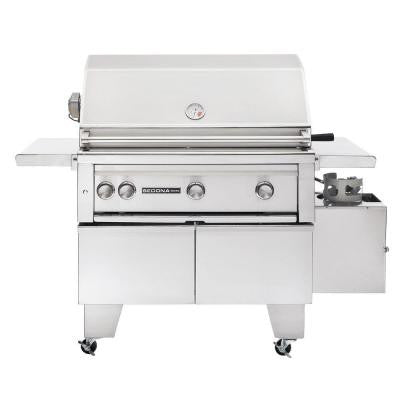 3-Burner ADA-Compliant Stainless Steel Propane Gas Grill with Rotisserie