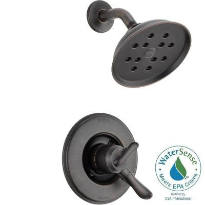 Linden 1-Handle H2Okinetic Shower Only Faucet Trim Kit in Venetian Bronze (Valve Not Included)