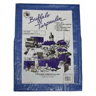 10 ft. x 15 ft. Buffalo Blue Poly Tarp