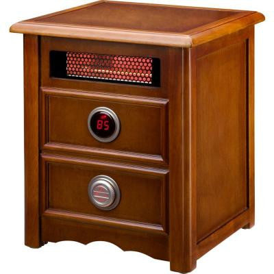 Nightstand 1500-Watt Infrared Portable Space Heater with Dual Heating System