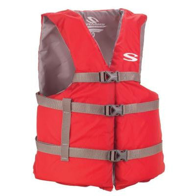 Adult Red General Purpose Life Vest