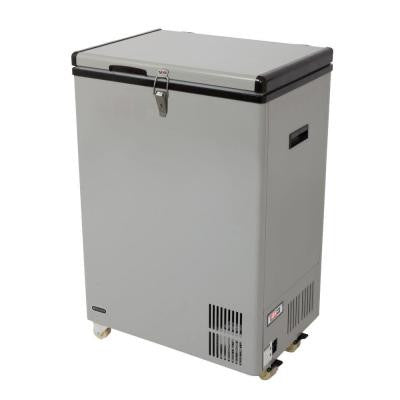 3.17 cu. ft. Portable Refrigerator/Freezer in Gray
