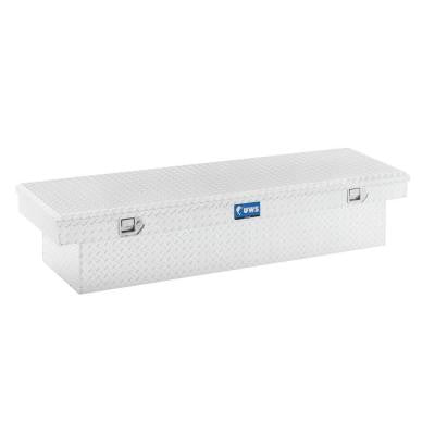 60 in. Aluminum Single Lid Crossover Angled Tool Box
