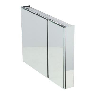 36 in. x 26 in. Recessed or Surface Mount Medicine Cabinet with Bi-View Beveled Mirror