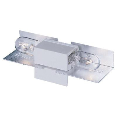 Ambiance White Lx Wedge Base Lamp Holder