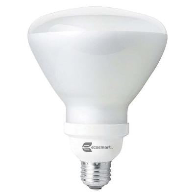 120W Equivalent Daylight (5000K) BR40 CFL Light Bulb