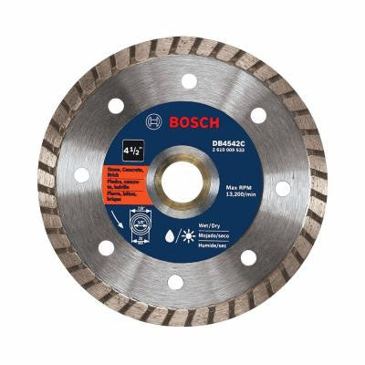4-1/2 in. Premium Turbo Rim Diamond Blade for Smooth Cut