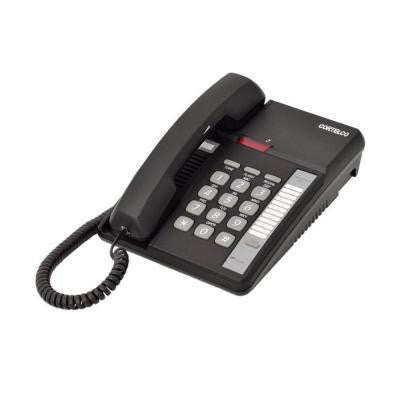 Centurion Basic Corded Telephone with Volume Control - Black