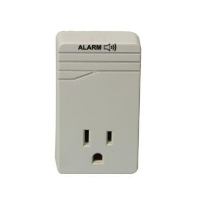 Appliance 1-Outlet 900-Joule Surge Protector with Alarm - Gray