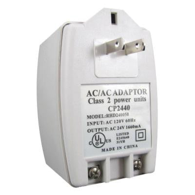 24-Volt AC Adapter for Elite Cameras