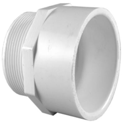 1-1/4 in. PVC Sch. 40 MPT x S Male Adapter