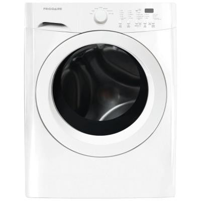 3.9 cu. ft. High-Efficiency Front Load Washer in Classic White, ENERGY STAR