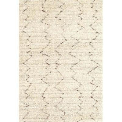Fassi Ivory 4 ft. x 5 ft. 7 in. Area Rug