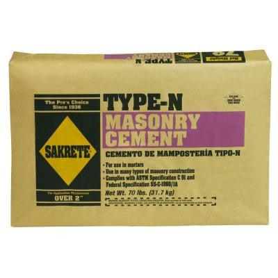 70 lb. Type-N Masonry Cement