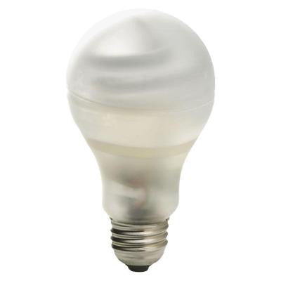 60W Equivalent Soft White (2700K) A19 CFL Light Bulb