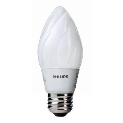 45W Equivalent Soft White F15 Dimmable LED Light Bulb (E)*