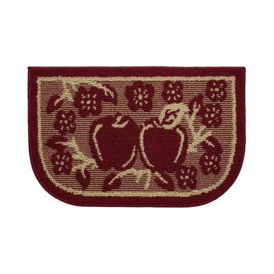 Apple Crisp 18 in. x 28 in. Kitchen Rug