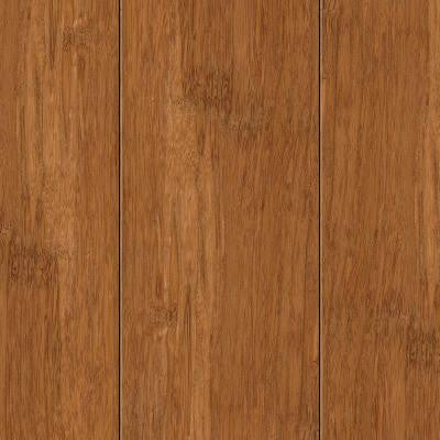Hand Scraped Strand Woven Autumn 3/8 in. Thick x 2-3/8 in. Wide x 36 in. Length Solid Bamboo Flooring (28.5 sq.ft./case)