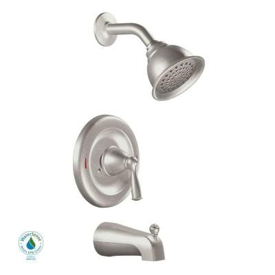 Banbury 1-Handle Tub and Shower Faucet in Spot Resist Brushed Nickel