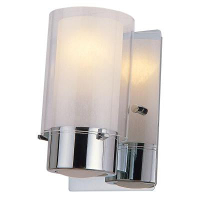 Celestial 1-Light Chrome Sconce