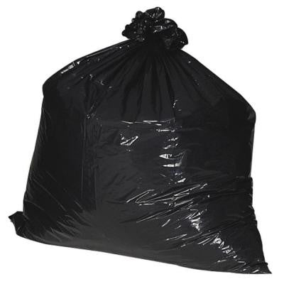 33 Gal. 33 in. x 39 in. 1.25 mil Recycled Heavy-Duty Trash Liners (100/Box)