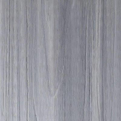 UltraShield Naturale Voyager 8/9 in. x 5.5 in. x 6 in. Hollow Composite Decking Board Sample in Icelandic Smoke White