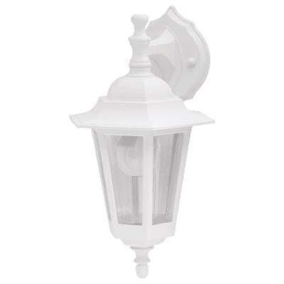 Bonita White Outdoor Wall-Mount Lantern