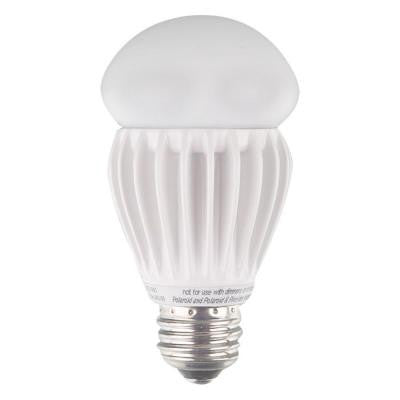 60W Equivalent Bright White (3000K) A19 Non-Dimmable Omni Directional LED Light Bulb