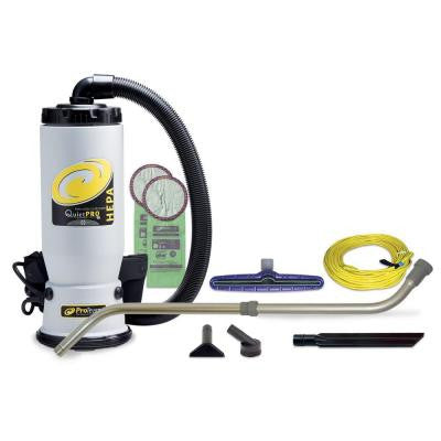 QuietPro BP HEPA Vacuum with 14 in. Multi-Surface Floor Tool and Telescoping Wand