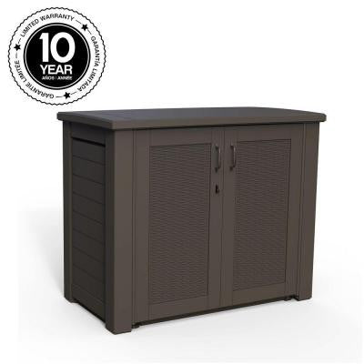 123 Gal. Bridgeport Resin Patio Cabinet